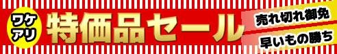 ワケアリ商品・アウトレット大集合 特価品セール